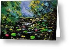 Nympheas 561170 Greeting Card