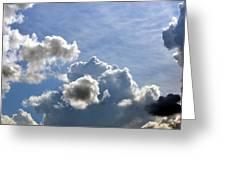 O Spacious Skies Greeting Card