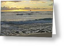 Oahu Morning 6835 Greeting Card