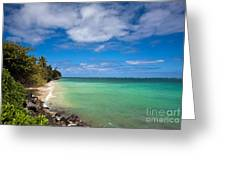 Oahu Solace Greeting Card