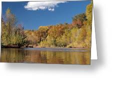 Oak Creek Reflection Greeting Card