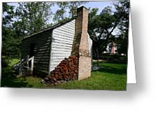 Oakley Plantation Slave Quarters Greeting Card