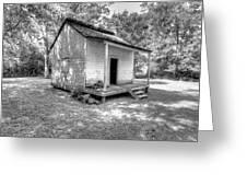 Oakley Plantation Slaves Quarters Greeting Card