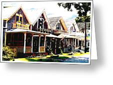 Oaks Bluff Martha's Vineyard Greeting Card