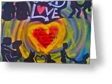 Occupy The Heart Greeting Card