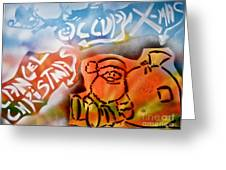 Occupy X-mas Greeting Card