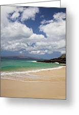Ocean And Sky Of Makena Beach Greeting Card