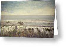 Ocean Breeze Greeting Card by Kathy Jennings