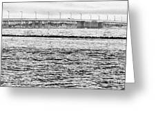 Ocean City Bridge Greeting Card