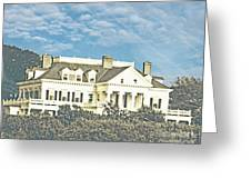 Ocean Drive Mansion Ri Greeting Card