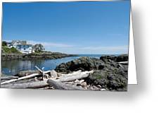 Ocean Front Living Greeting Card