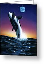 Ocean Leap Greeting Card