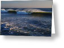 Ocean Of The Gods Greeting Card