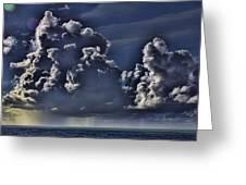 Ocean Rains Greeting Card