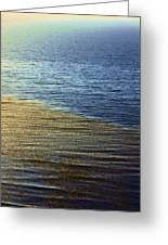 Ocean Spring Greeting Card by Viktor Savchenko