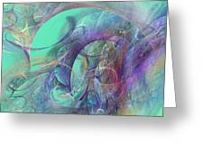 Ocean Symphony I Greeting Card