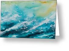 Ocean's Melody Greeting Card