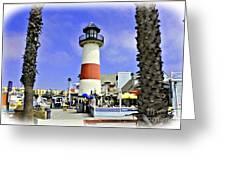 Oceanside Lighthouse Greeting Card