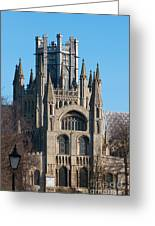Octagon Tower  Greeting Card