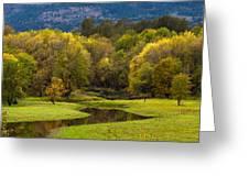 October Serenity Greeting Card