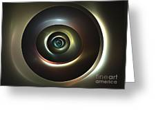 Ocular Lens Greeting Card