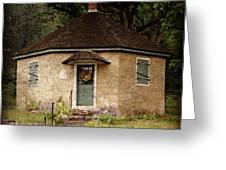 Odd Little House Greeting Card