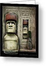 Odd Man Out Greeting Card by Suni Roveto