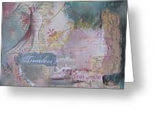 Of Beauty And Mystery Greeting Card