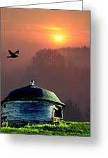 Of Setting Suns Greeting Card