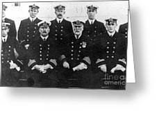Officers Of The Titanic, 1912 Greeting Card