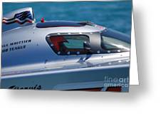 Offshore Racer Cockpit Greeting Card