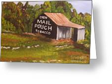 Ohio Mail Pouch Barn Greeting Card