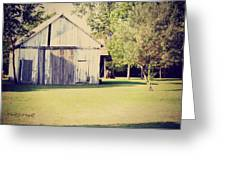 Ohio Shed Greeting Card