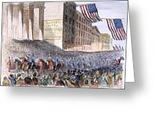 Ohio: Union Parade, 1861 Greeting Card