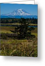 Ohop Valley Rainier Greeting Card