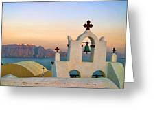 Oia In Santorini Greeting Card
