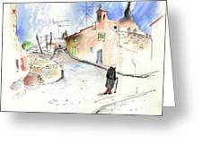 Old And Lonely In Spain 02 Greeting Card