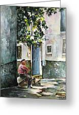 Old And Lonely In Spain 08 Greeting Card