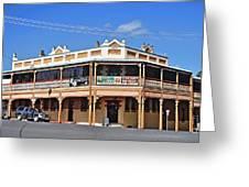Old Aussie Pub Greeting Card