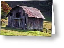 Old Barn In Etowah Greeting Card