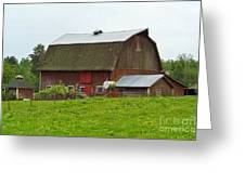 Old Barn On 264th. Street Greeting Card