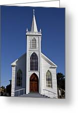 Old Bodega Church Greeting Card