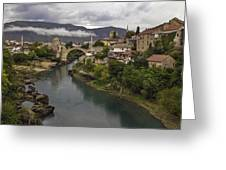 Old Bridge Of Mostar Greeting Card by Ayhan Altun