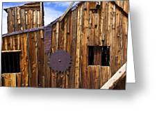 Old Building Bodie Ghost Town Greeting Card by Garry Gay