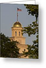 Old Capitol Greeting Card by Diane Zumbach
