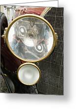 Old Car Lamp Greeting Card by Odon Czintos