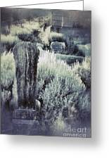 Old Cemetery On A Hill Greeting Card