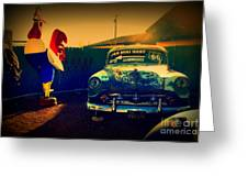 Old Chevrolet On Route 66 Greeting Card