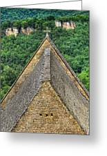 Old Church View Dordogne France Greeting Card