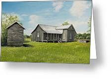 Old Clark Home Greeting Card